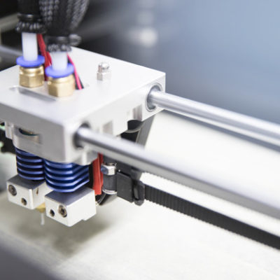 Dual Injector Of the 3D printer tools, Technology Background.
